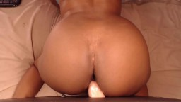 Ms November with black butt squirts and fucks glory hole