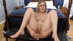 Anal addicted busty blonde babe Lana banged a double dong