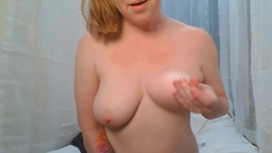 Submisive chunky housewife loves when men dominate her