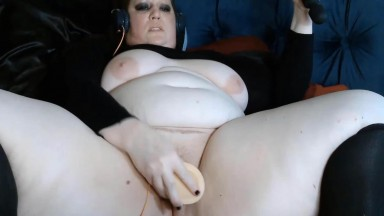 Hot BBW Sam Hayne will strip you of mind and body control