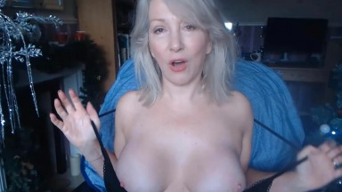 Slutty British housewife Christie needs orgasmic pleasure
