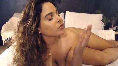 College slut Lina Ortiz wants to see your forbidden cock