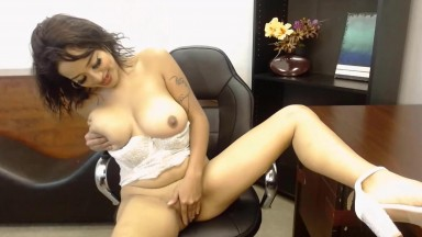 Exotic Asian Cherry really knows how to please herself