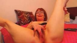 American dirty talking granny Cindy to sissy boy training